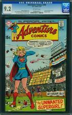 Adventure Comics #393 Supergirl Cover Mr. MXYZPTLK App CGC 9.2