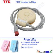 Hp M2702a M2703a Toco Transducer For Hp Fetal Monitor Avalon Fm20 Fm30