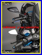 Coppia specchi manubrio LighTech YAMAHA T-MAX 530 18 Nero TMAX 2018 specchietti