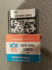 Vintage NFL 1960's NEW YORK GIANTS 8mm Cragstan Film New Rare Football NIB
