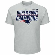 39479a3ba  14.95 New. Super Bowl Li Champions Champ Time Tee Patriots Size Large