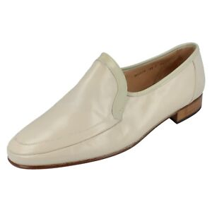 Mens Grenson Leather Slip On Shoes Virginia