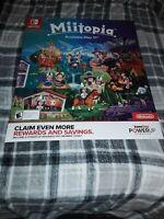 Miitopia Gamestop Exclusive Promo Poster