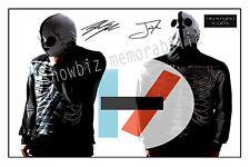 * Twenty One Pilots * large band signed photo. perfect gift!!