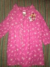 Disney Princess Bath Robe Pink Guc Soft Warm Size 4 / 5 Xs Cute Item