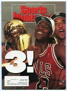 SI: Sports Illustrated June 28, 1993 Michael Jordan, Chicago Bulls, NBA Champs