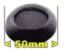 From Oz 2 PAIR Headphone Foam Cushion Comfy Earmuffs Pads Suit 50mm Tips +FP!