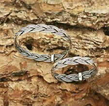 Ring Keltisch/Wikinger Flecht Design 925 Silber Breite 3.6mm Größe 53-69 SRKR54
