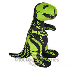 """12.5"""" T-Rex Skeledon Plush Dinosaur Dinosaurs Dino Tyrannosaurus Glow Night"""