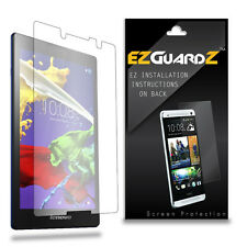 2X EZguardz LCD Screen Protector Cover HD 2X For Lenovo Tab 2 A8 (Ultra Clear)
