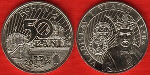 "Romania 50 bani 2014 ""Vladislav I Vlaicu"" UNC"