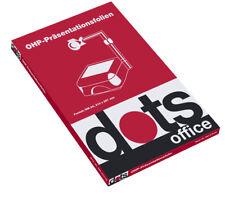 Dots Ohp-folien A4 50st.inkjet Inkjet-ducker