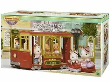 Sylvanian Families Ride Along Tram Tv-01 Town Series Epoch Japan Calico Critters