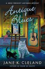 ANTIQUE BLUES    Josie Prescott Antiques Mysteries  Jane Cleland     2018