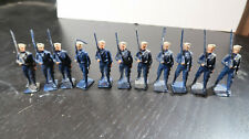g Britains Toy Soldiers Lead Sailors Marching with Rifles