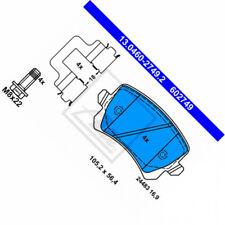 ATE 13.0460-2749.2 Bremsbelagsatz, Scheibenbremse VW Passat 362