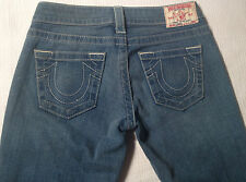 EUC - AS NEW - RRP $379 - Womens True Religion Brand 'JOHNNY' Jeans Size 26
