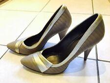 Aldo Leather Court Slim Heels for Women