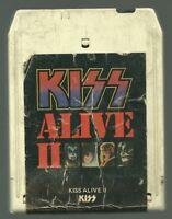 VINTAGE 1977 KISS ALIVE II VOLUME II 8-TRACK