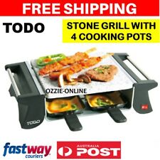 Electric Stone Grill Teppanyaki Hot Plate Hotplate Healthy Meal Maker