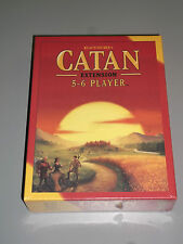 CATAN 5-6 Player Extension!!  Brand New + Sealed!!