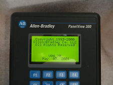 ALLEN BRADLEY 2711-K3A2L1/A PANELVIEW 300 DH-485 KEY FRN 4.20, Very Nice Tested