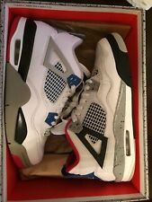 "Nike ""What The 🔥"" 4s Retro Mens 7 + Box And Crease Guards"