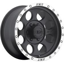 4 - 15x10 Black Wheel Mickey Thompson Classic Baja Lock 5x4.5 -45