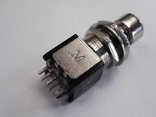 Latching Foot Switch DPDT Guitar Keyboard Effects Group etc EB01