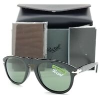 NEW Persol sunglasses PO0649 95/58 52mm Black Grey Green Polarized AUTHENTIC 649