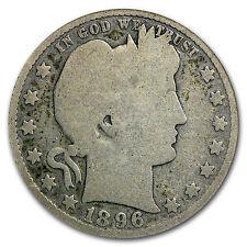 1896-S Barber Quarter AG-3 PCGS