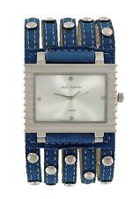 orologio donna Nele Fortados bracciale in jeans  b 293