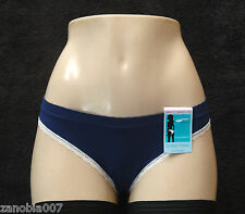 Barely There Cheeky Microfiber In The Navy Bikini Size 8XL