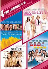 Friends Forever 4 Film DVD Ya-Ya Sisterhood/Sex & the City/The Women/Now & Then