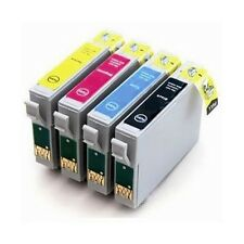 4 XL Ink Cartridges for use in Epson Stylus SX525WD SX535WD SX620FW Printers