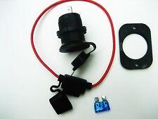 Cigarette Lighter Socket Power Outlet 12 Volt  Marine Motorcycle + Fuse Holder