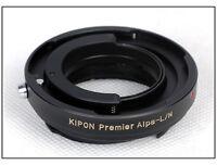 Adapter Alpa kern macro switar 50mm/1.9 1.8 on Leica M 240 M10 6bit RF Coupled