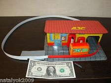 VINTAGE Soviet Russian mechanical toy Gas Station USSR