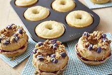 NEW! 2 Pack Wilton Nonstick 6-Cavity Donut Pan Bakeware Baking Cake 3DAYSHIP