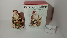 Christmas Music box Fitz and Floyd Holiday Solstice Silent Night 2004 in box
