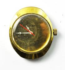 Kenneth Jay Lane Wristwatch 17J 29UT Manual Wind Gold Tone 34mm Wristwatch