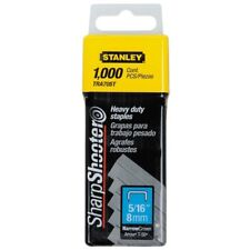 """Stanley TRA705T 5/16"""" Sharp Shooter Narrow Crown H-D Staples 1,000-count"""
