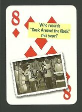 Bill Haley & His Comet Rock Around The Clock Neat Playing Card #4Y5
