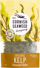 Organic Cornish Kelp Kombu Flakes Seaweed - Hand-harvested in Cornwall (60g)