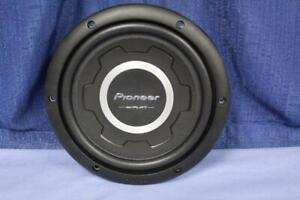 """Pioneer TS-SW2501S4 10"""" Pancake Subwoofer 300W RMS/1200W Max 4 Ohm Display Unit"""