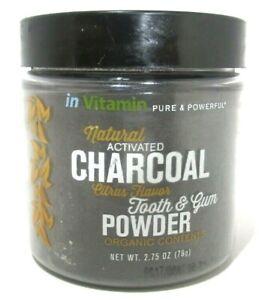 In Vitamin Whitening Tooth & Gum Powder Citrus - 2.75 oz. New/Sealed