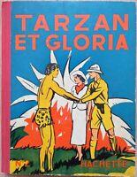 BD TARZAN & GLORIA  n°2 Hachette 1937
