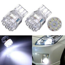 2pcs T20 7443 7440 9LED Turn Signal Brake Tail Lamp Light Bulb White For Car