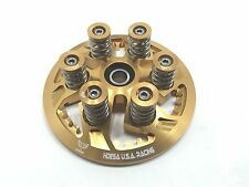Ducati Dry Clutch Billet Pressure Plate Stainless Springs Caps Bolts Kit GOLD