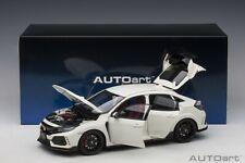 Autoart HONDA CIVIC TYPE R (FK8) CHAMPIONSHIP WHITE COMPOSITE 1/18 Scale New!